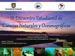 AFICHE ENCUENTRO 2014-oceanografia