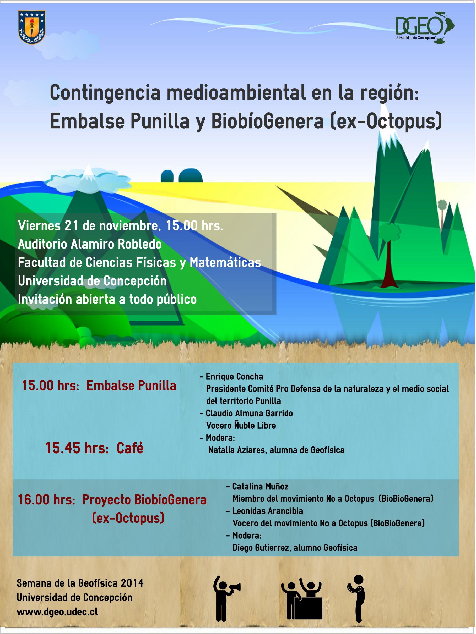 SeminarioMedioambiente_semana de la geofisica