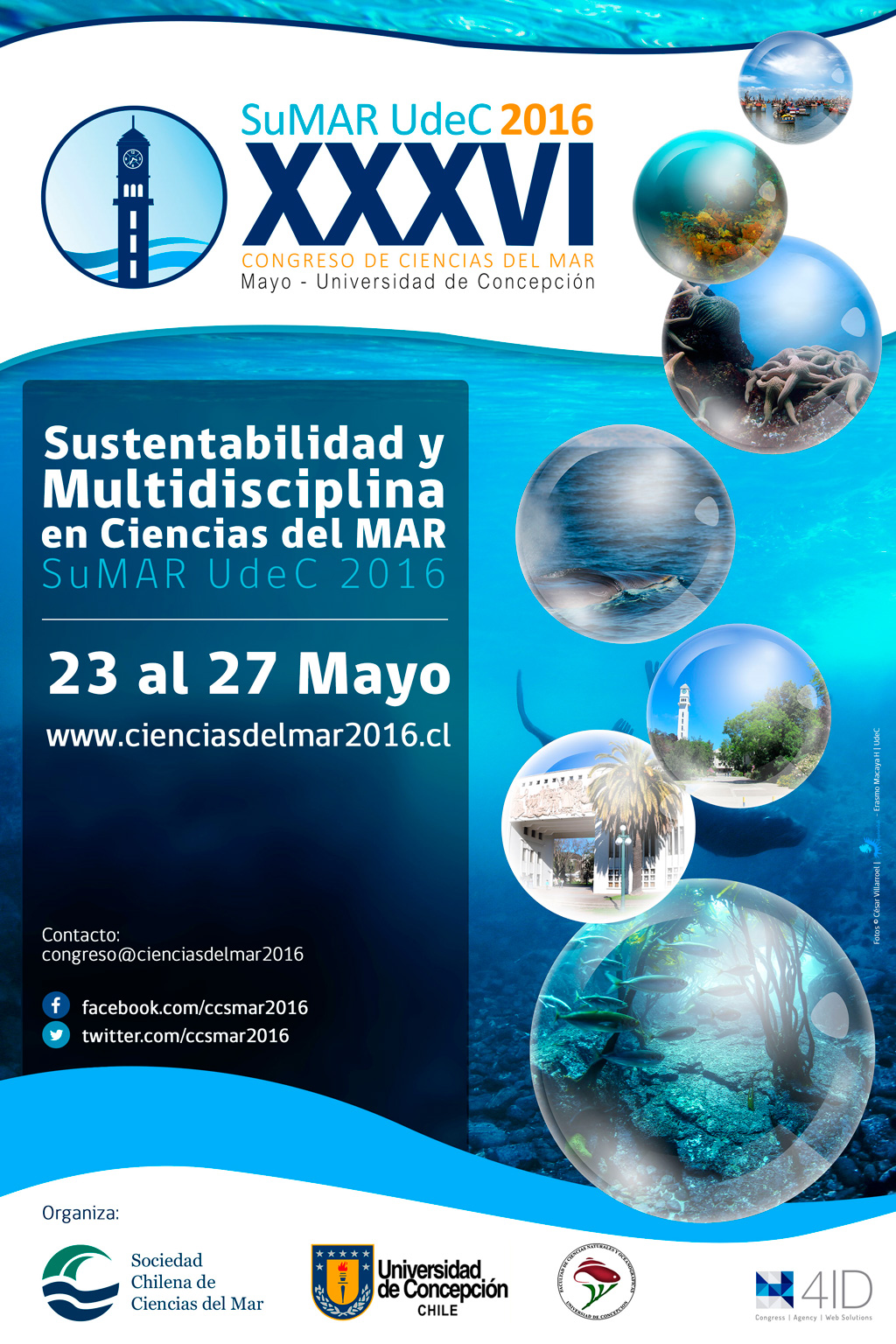 Congreso Ciencias del Mar 2016