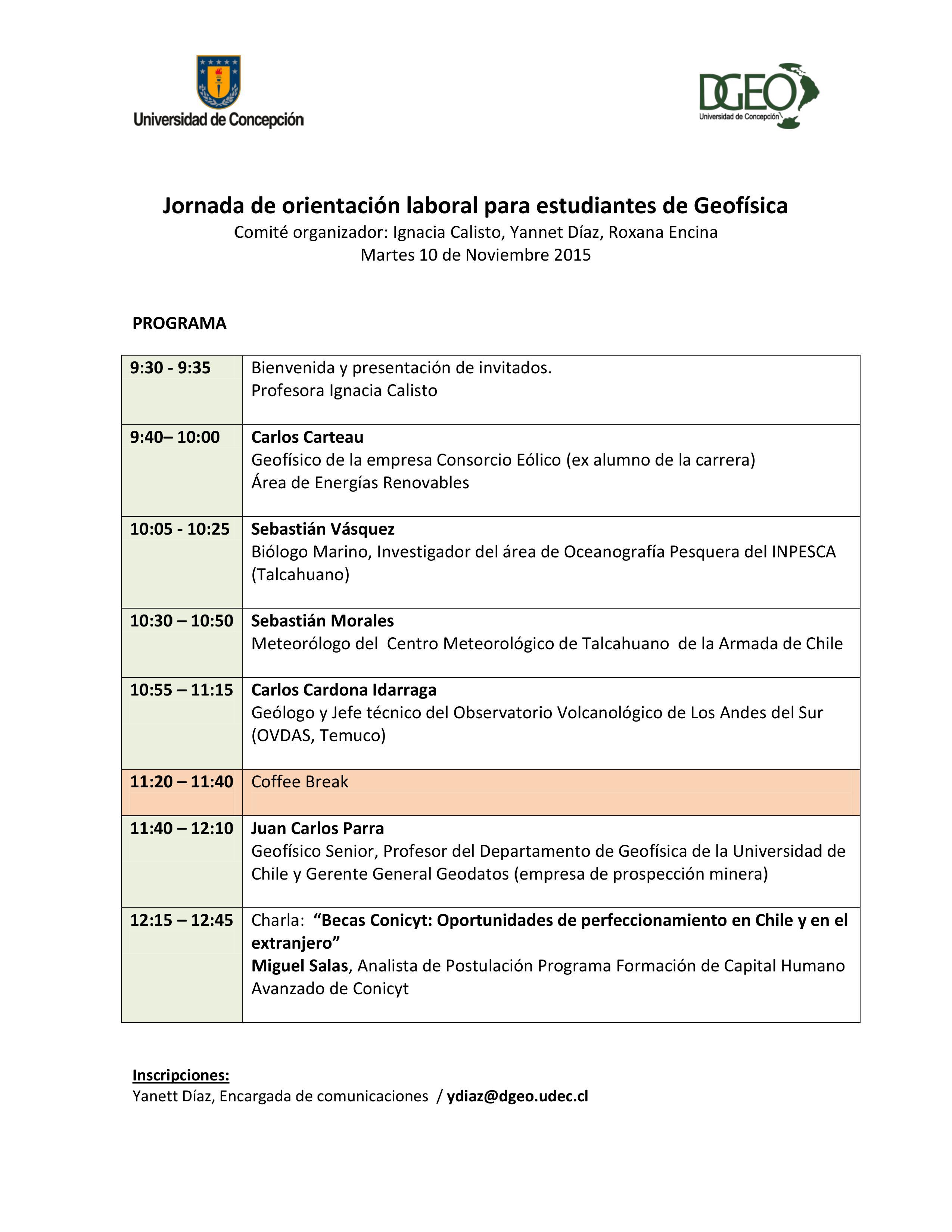 Programa orientacion laboral 2015